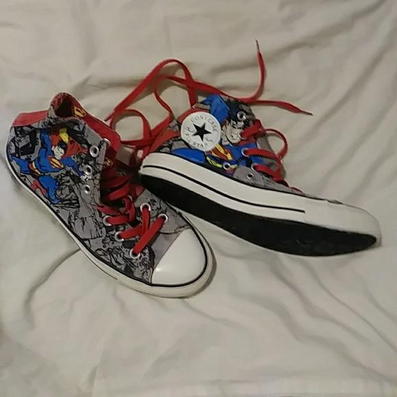 52e03a4a0fcc Converse Shoes - Superman CONVERSE chuck taylor all star 5.5 7.5